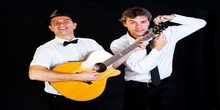 Le duo du barber shop quartet